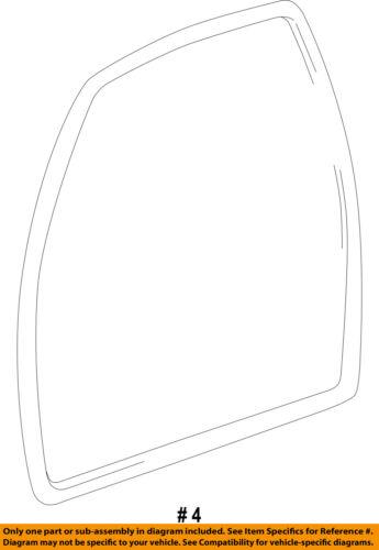 TOYOTA OEM 98-00 Tacoma Front Door-Weatherstrip Seal Left 6231204020