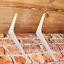 miniature 5 - SHELF BRACKETS WHITE London Shelving Metal Shed Garage Garden BULK BUY BOX 10/20