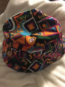 One-Man-Show-Head-KBETHIS-MEN-HAT-BUCKET-WILD-COLORS-DESIGNS-One-Size-Fit-All