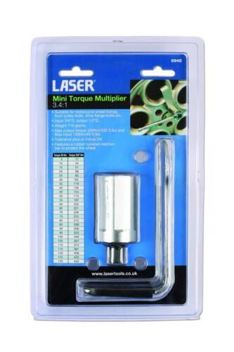"332ft lbs Laser Tools Mini Torque Multiplier 3//8/"" 1//2/"" Small  Range 450Nm"