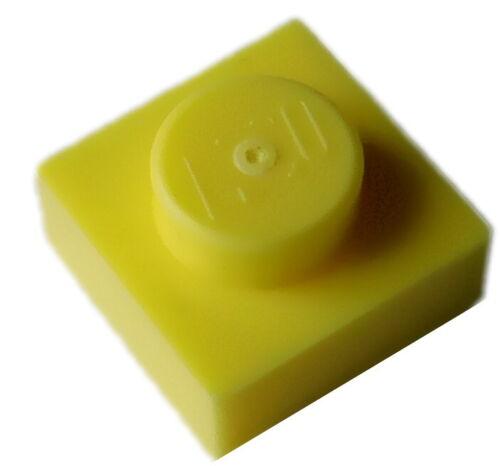 New Panel City 3024 Lego 10 Piece Pale Yellow Plate 1x1 Bright Light Yellow