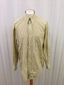 Mens-Ben-Sherman-Retro-Shirt-Xl-Long-Sleeved-Great-Condition