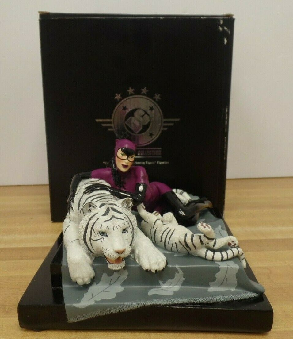 CatFrau Tigress Among Tigers Porcelain Figurine DC Universe 744 2500 101119DBT3