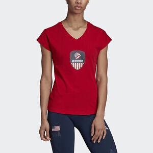 adidas-USA-Volleyball-Tee-Women-039-s