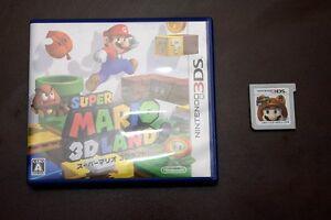 Nintendo-3DS-Super-Mario-3D-Land-Japan-import-game-US-Seller