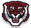 Varsity Letterman Lettre Veste patch High School College MASCOTTE tigre