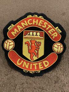 Manchester United Badge Football Club Logo Badge Bullion Wire Handmade Badge Ebay