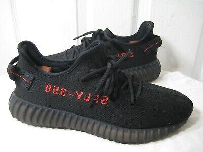 Adidas YEEZY BOOST 350 V2 BRED CBLACKCBLACKRED CP9652 SIZE 10 | eBay