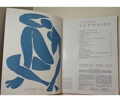 Aragon - Jardin des Arts n°106 - septembre 1963 - Henri Matisse ou le peintre fr