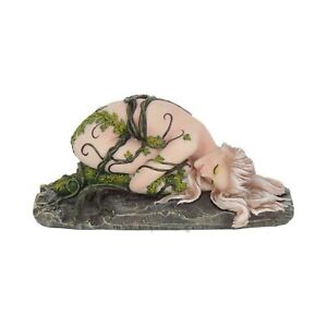 Uno-con-Terra-Figurina-14cm-Dipinto-a-Mano-Premium-Natura-di-Qualita-Resina