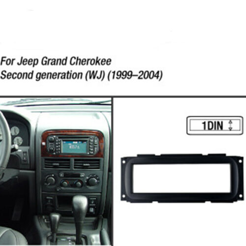 For Jeep Grand Cherokee 1999-2004 Dash Mount Frame Car Stereo Radio Fascia Panel