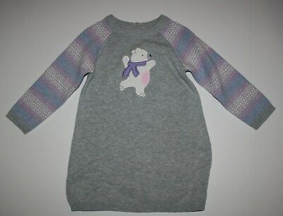 T-shirts & Tops Intelligent New Gymboree Skating Polar Bear Sweater Dress Nwt 6-12 12-18m 18-24m Cubs & Hugs Luxuriant In Design