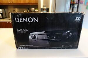 mint denon avr a100 100th anniversary home theater receiver boxed w rh ebay com Denon Home Theater in a Box Denon Surround Sound System