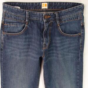 Image is loading Mens-HUGO-BOSS-ORANGE-49-Comfort-Fit-Blue-