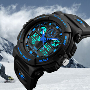 Men-039-s-Date-Quartz-Military-Shock-Digital-Tactical-Sport-Fashion-Wrist-Watch-US