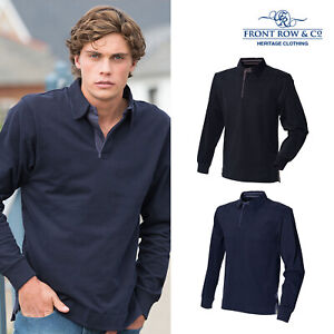 Front Row Super Soft Long Sleeve Rugby Shirt