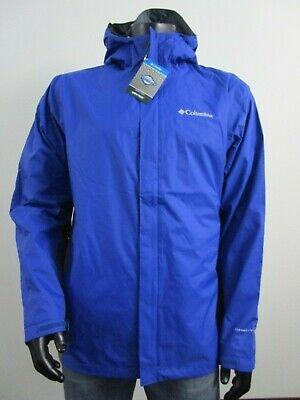 Rust Mens Columbia S-M-L-XL-XXL Timber Pointe Waterproof Hooded Rain Jacket