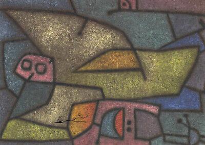 Paul Klee Kunstkarte Angelus Militans  1940
