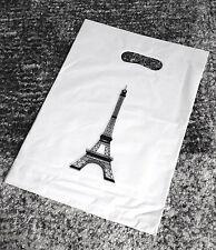 MAXI LOT 10 SAC PLASTIQUE POUR VENDEUR TOUR EIFFEL PARIS CRÉATEUR VENDEUR PRO