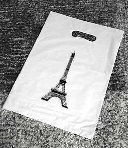 MAXI-LOT-10-SAC-PLASTIQUE-POUR-VENDEUR-TOUR-EIFFEL-PARIS-CREATEUR-VENDEUR-PRO