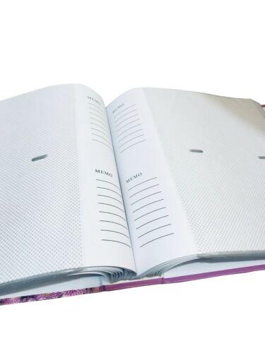 """Álbum De Fotos Deslizamiento 4X6/"""" en caso de área de notas tiene capacidad para 208 Imagen Diseño De Flores"""