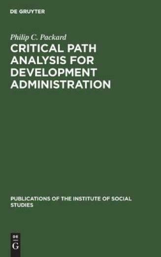 Critical Path Analysis For Development Administration