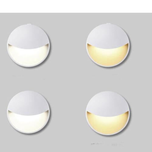 Automatic LED Night Light Plug in Energy Saving Dusk 2 Dawn Sensor WARM WHITE