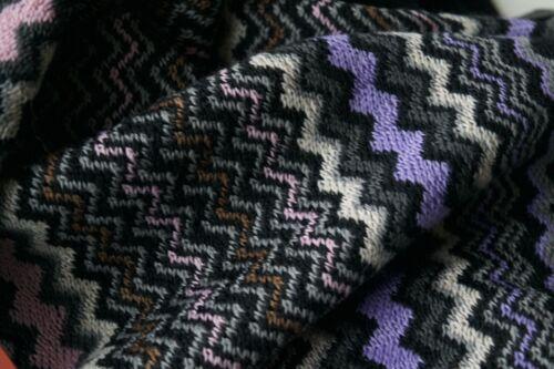Missoni en mélange poncho authentique à Nouveau de jeté franges laine zBStx5qx