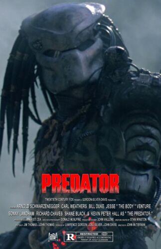 Predator UNSIGNED 11x17 PHOTO #9 Arnold Schwarzenegger Carl Weathers