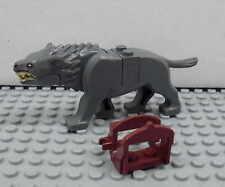 LEGO Hobbit - Warg (dunkelgrau) - Figur Minifig Herr der Ringe LOTR 79002 79012