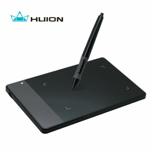 """Drawing Tools Suit Huion 420 4""""x 2.23"""" Graphics Drawing USB Tablet + Digital Pen"""