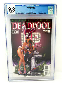 DEADPOOL-65-CGC-9-8-White-Pages-1st-Black-Swan-Outlaw-amp-Ragtag
