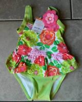 Swimsuit Gymboree,bathing Suit,one Piece,nwt,floral Print,sz.6,12,18,24m,2t,3t