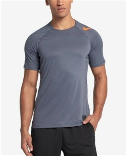 Pro Mens Gray L Shirt Hypercool T Nike Pullover Sz MLjqpUzSVG