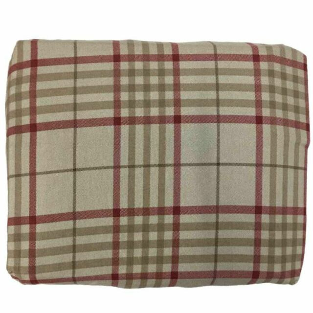 Cuddle Duds Flannel Sheet Set Khaki Red Plaid Twin Bed Sheets Bedding For Sale Online