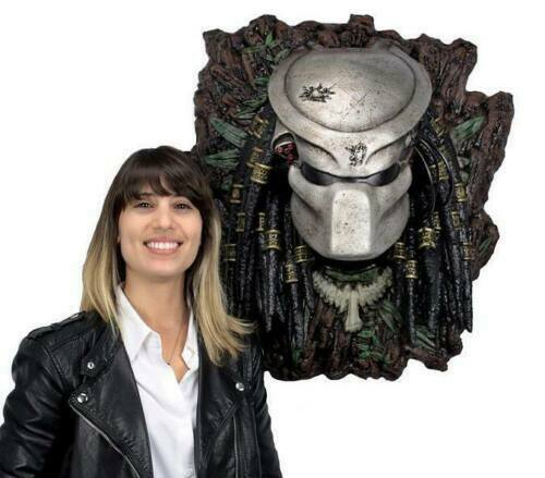 Busto De Tamaño Real Projoator 1 1 enmasCocheados Parojo Neca NT Sideshow Alien Estatua