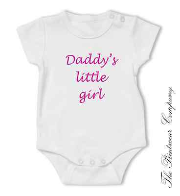 Merry Christmas Daddy Funny Baby Vest Grow Bodysuit Newborn 0-3 3-6 9-12