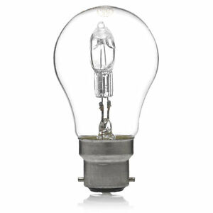 70W-100w-Dimmable-Xenon-Halogen-GLS-Lamp-BC-Base-1200-Lumens