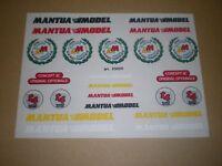 Mantua Stickers Mantua Model