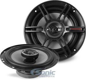 NEW-Crunch-CS653-300-Watt-6-5-inch-3-Way-Full-Range-Coaxial-Car-Stereo-Speakers