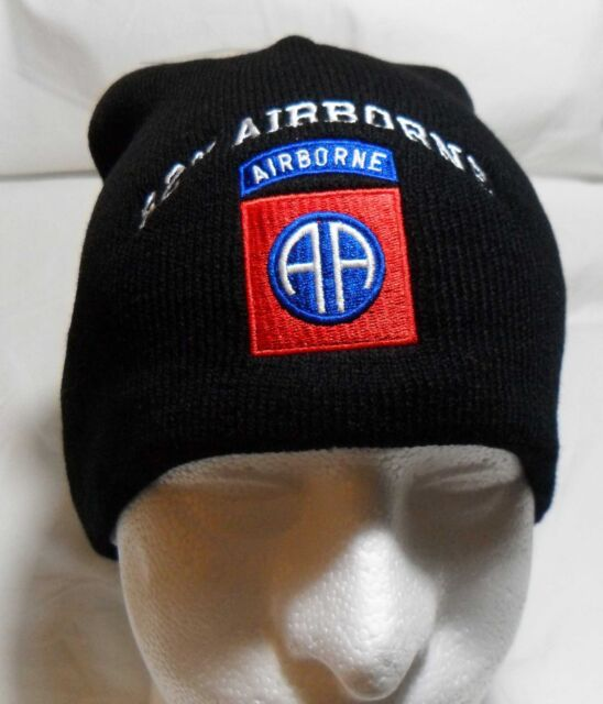 cddc72e0f6878b 82nd AIRBORNE Watch Cap Beanie Winter Ski Hat Toboggan Officially Licensed