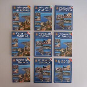 Principaute-Monaco-Monte-Carlo-fascicule-vintage-visite-guide-touristique-N4006