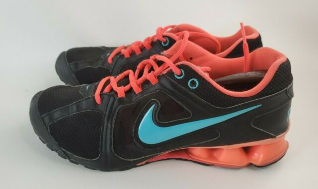 Nike REAX RUN Women's Shoes ~ Size 9.5 599562-003 Running Sneakers ~Athletic Gym