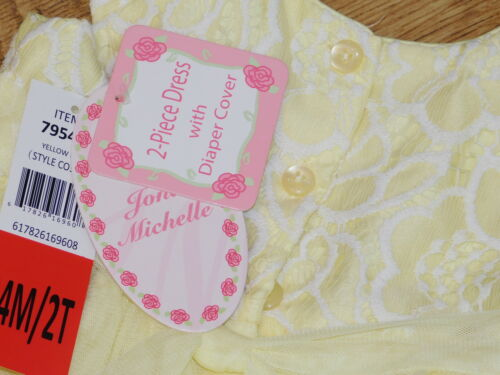 Jona Michelle baby//infant girls special occasion party dress 6//24 month BNWT
