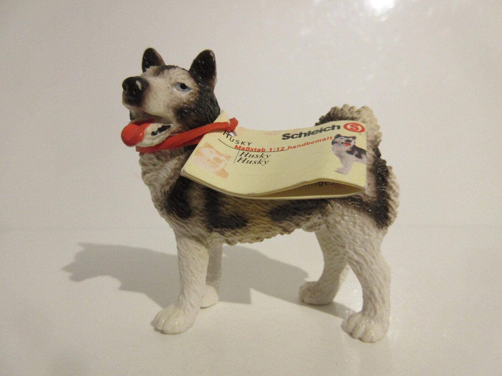 16311 Schleich Dog  Husky  booklet  ref 21P88
