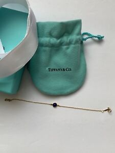 e2323b14b Tiffany & Co. Elsa Peretti Blue Lapis Color By The Yard Bracelet In ...