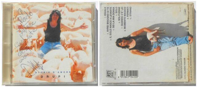 DRUPI STORIE D'AMORE CD 1993 (AUTOGRAFATO)