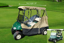 3 SIDED golf cart enclosure 2 seater - all weather
