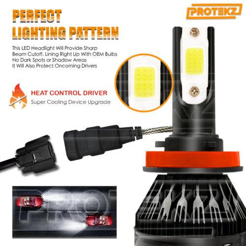 LED Headlight 2 Bulbs Kit CREE 9006 H7 H11 9005 6000K for 2004-2016 Mazda 3