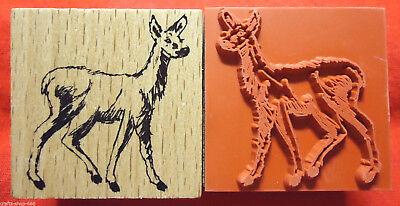 Motivstempel Stempel Vogel ca:20x20mm Basteln Kartengestaltung